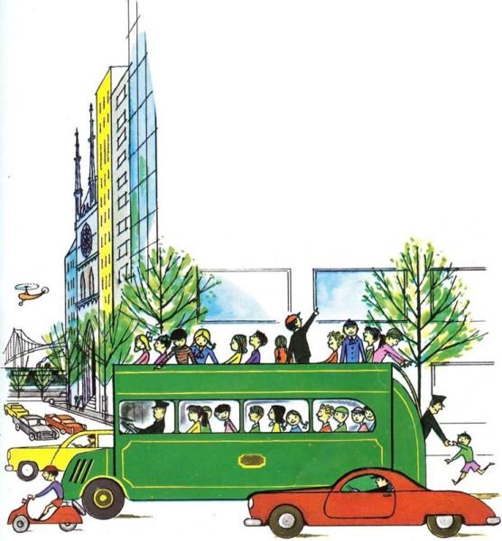 El autobús verde