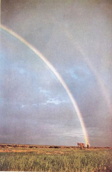 ¿Cómo se forma el arco iris?