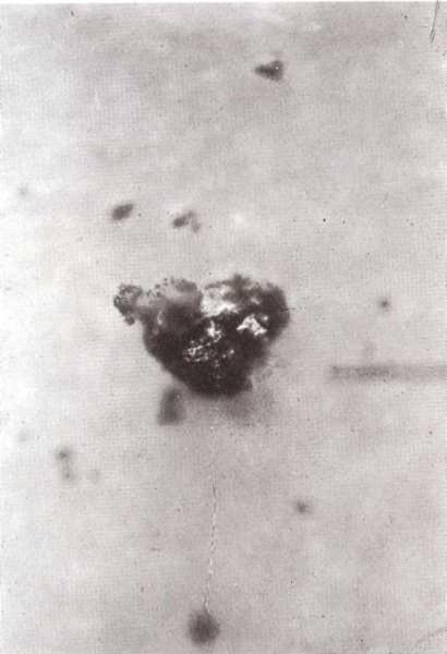 Polvo del espacio exterior o polvo cósmico