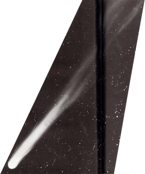La cola de los cometas