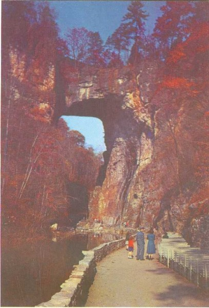 Puentes naturales