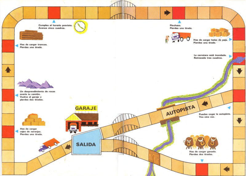 Juego del mapa de carreteras