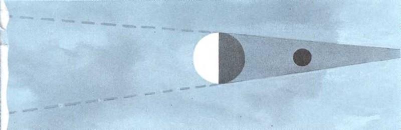 ¿Cómo se esconde la Luna?