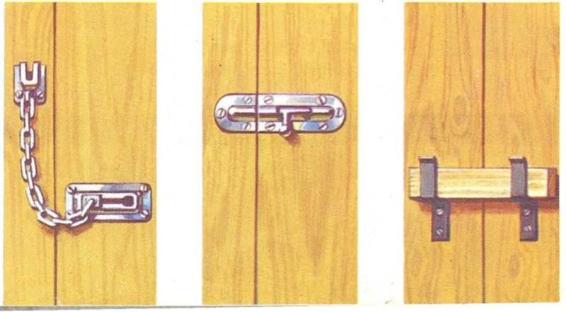 Puertas que cierran sin llave
