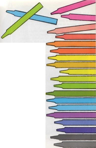 Colores a la cera o al pastel