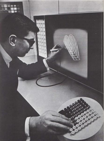 La máquina de diseño electrónico