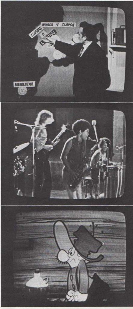 En la televisión