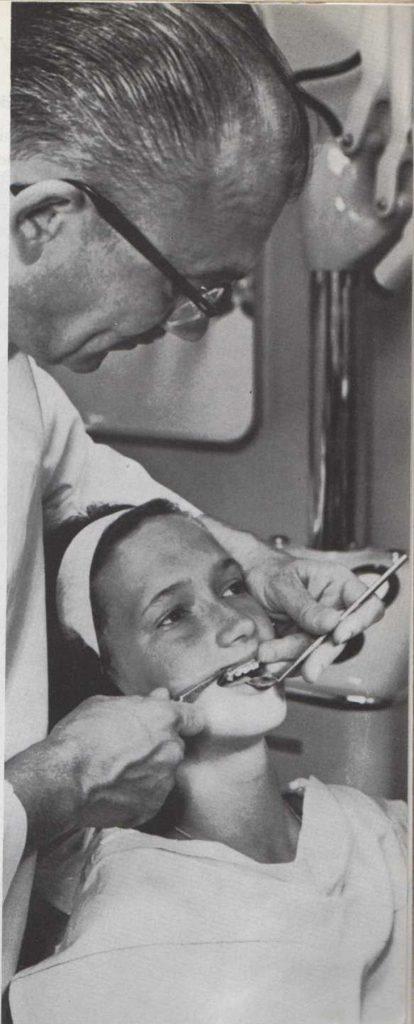 Limpieza de los dientes