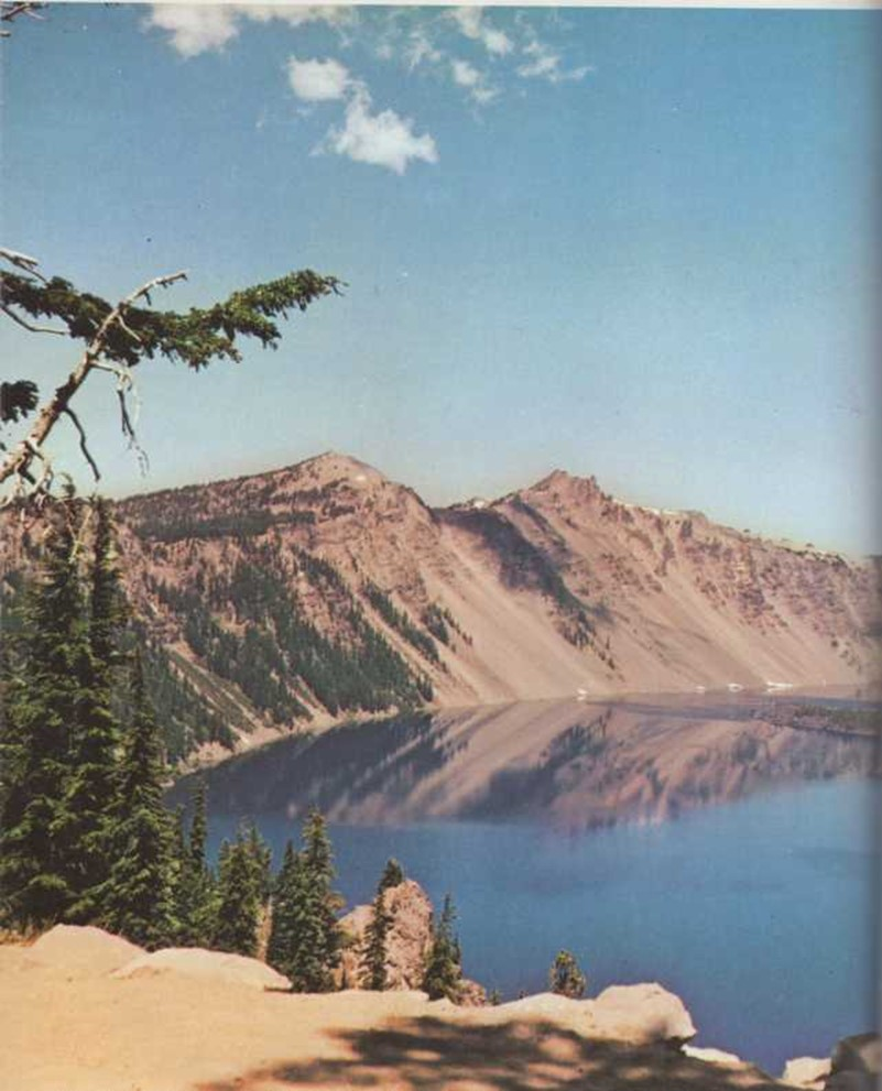 Un lago en un volcán