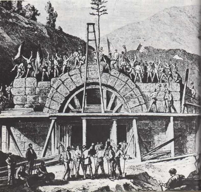 Cómo se construye un túnel