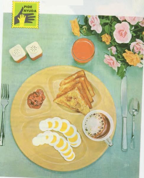 Un desayuno rápido y sencillo