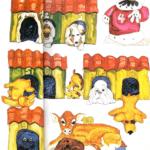 Los diez perritos