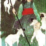 Estaba una pastora