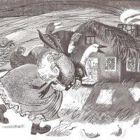 La viejecita de los gansos