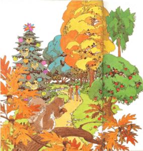 Sal al encuentro de los árboles