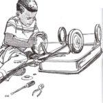 La rueda y el eje