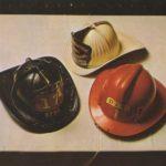 Los cascos de los bomberos