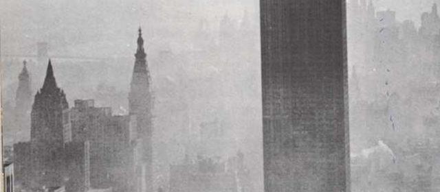 En lo alto del Empire State Building