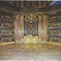 El panteón de una monarquía