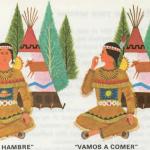 El lenguaje de los gestos entre los indios