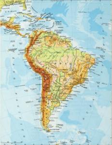 Los colores de los mapas