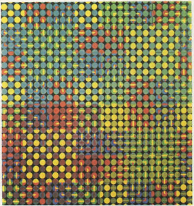 Colores hechos con puntos