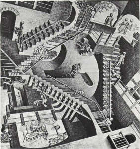 Subir o bajar escaleras