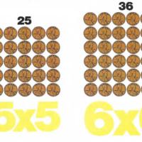 Números cuadrados
